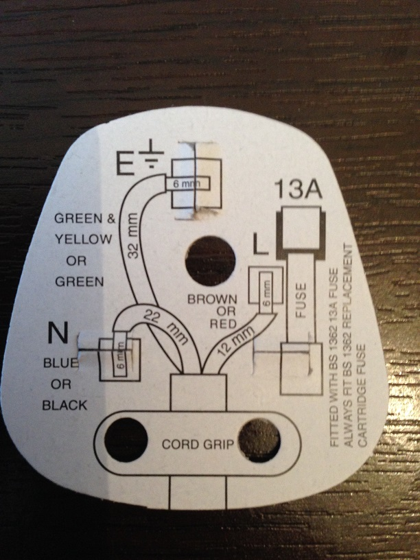 Wiring diagram safety cards on a plug cheapraybanclubmaster Gallery